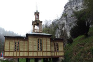 Kaplica na wodzie w Ojcowie